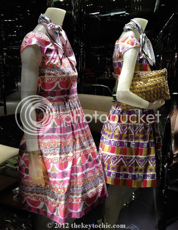 Prada 1950s trend spring summer 2012