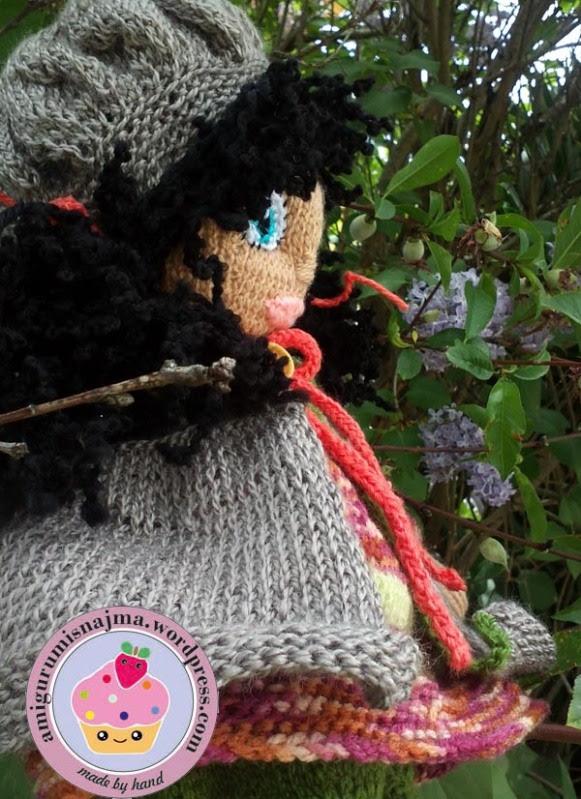 knitted doll Mandy muñeca tejida tricot  najma12