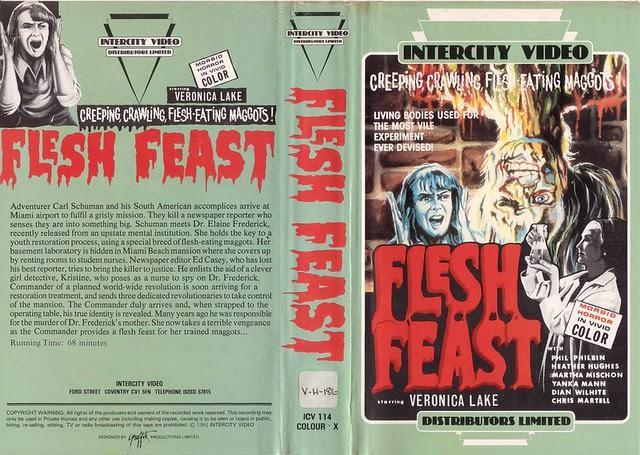 Flesh Feast (VHS Box Art)