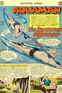 Adventure #257 Aquaman Splash Page