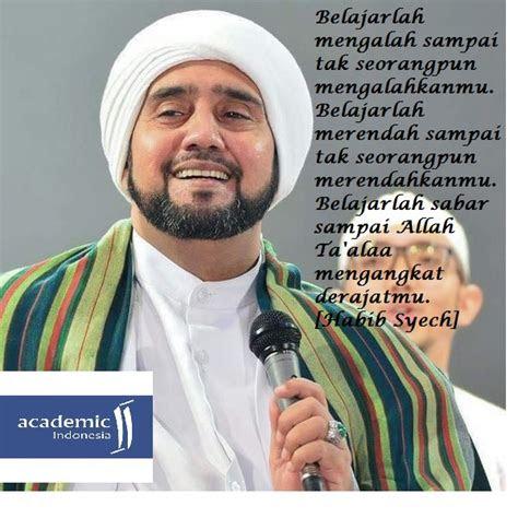 kata kata mutiara habib syech academic indonesia