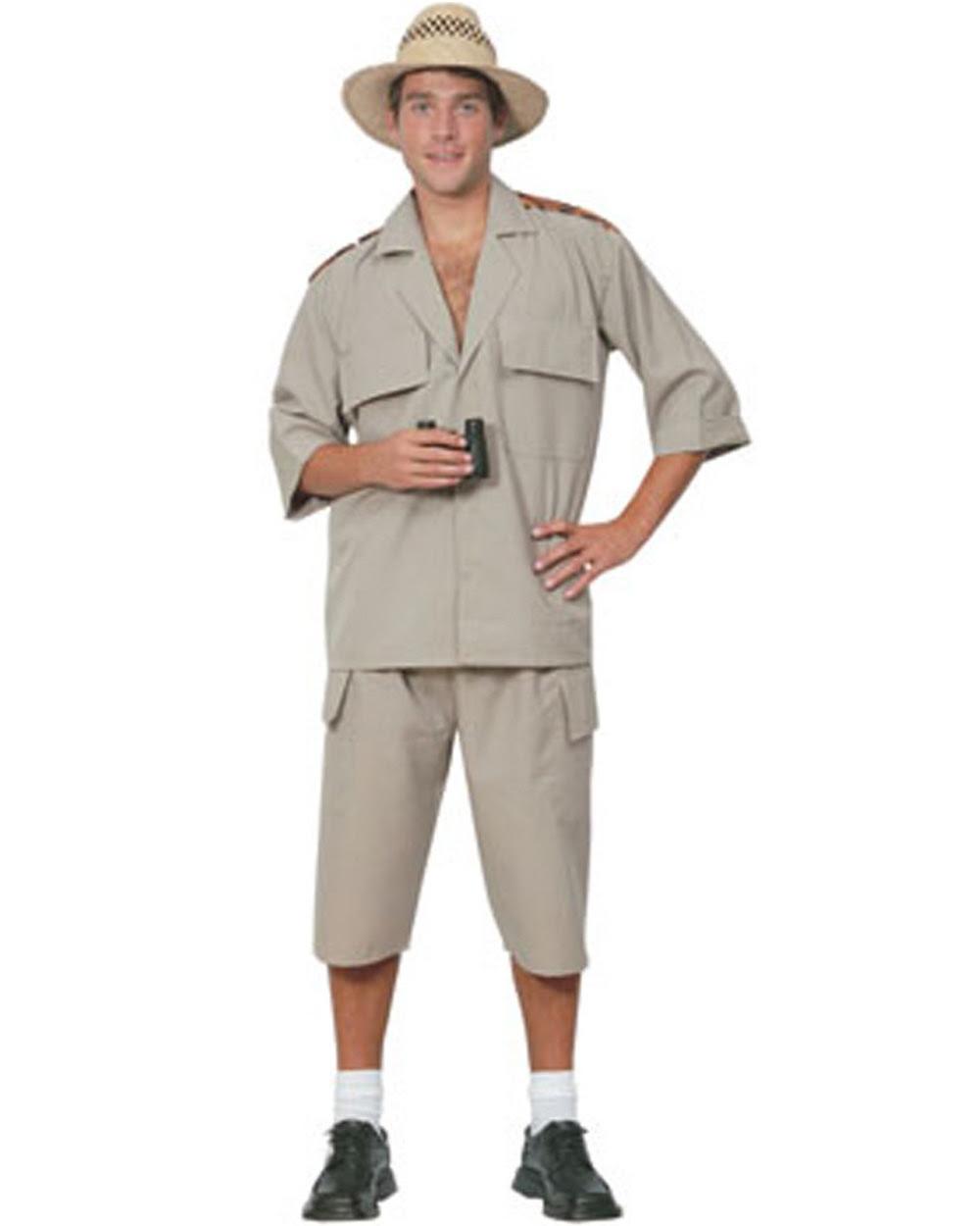 csw17 mens safari suit jungle desert crocodile hunter