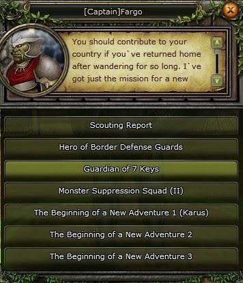 Knight Online Guardian of 7 Keys (Anahtar Görevi)