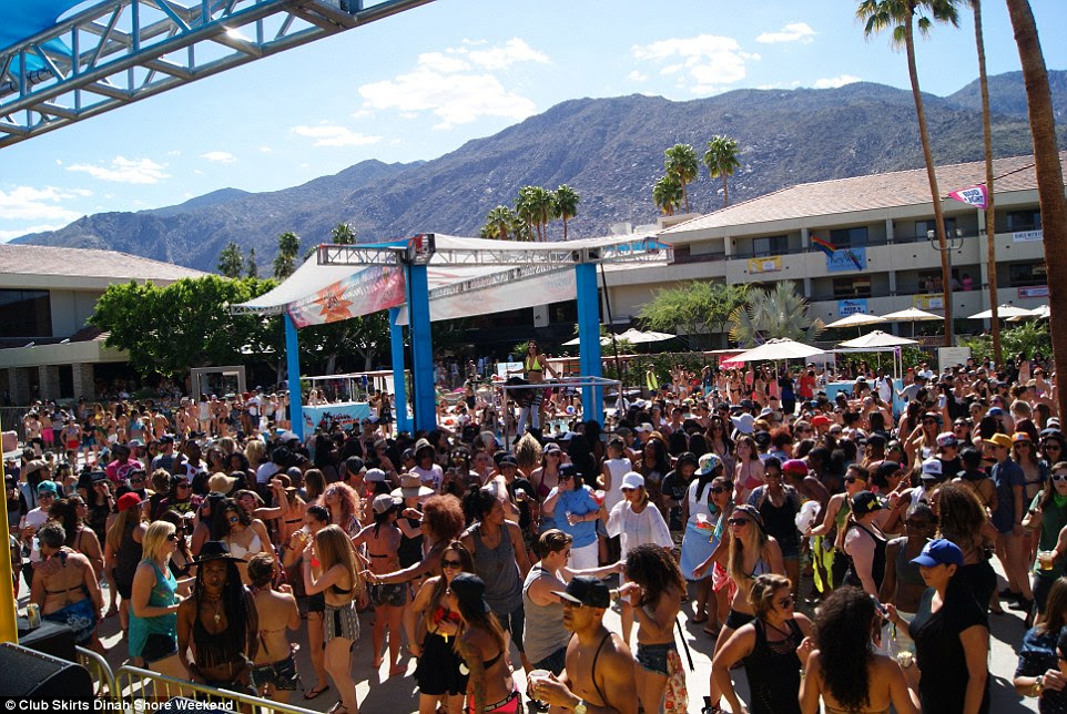 LGBT Central: Palm Springs' LGBT population is estimated to be nearly 50 percent, giving it the USA's highest gay population