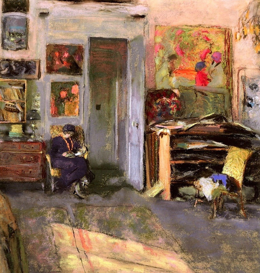 Lucie Belin in the Studio Edouard Vuillard - 1915