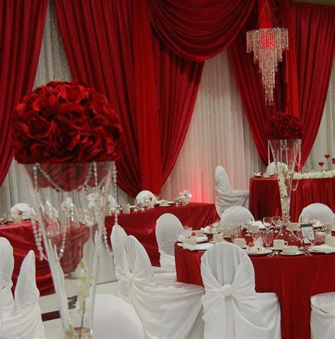 Best 25  Red and white wedding decorations ideas on