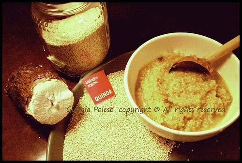 zuppa manioca  quinoa