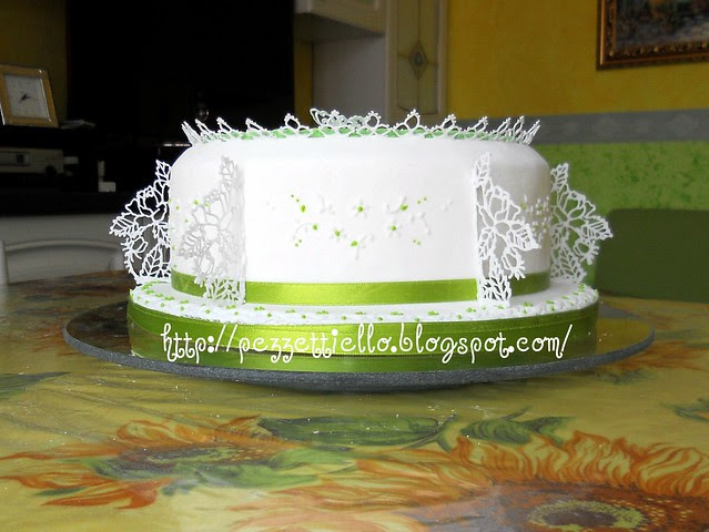 (PDZ-SAP) Torta delicata brush embrodery
