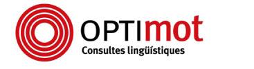 Optimot, consultes lingüístiques