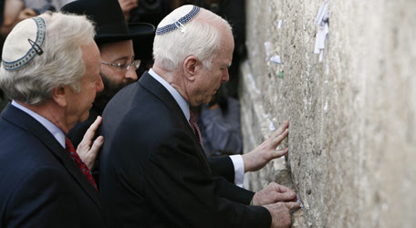 mccain visited israel to pay court to lord rothschild