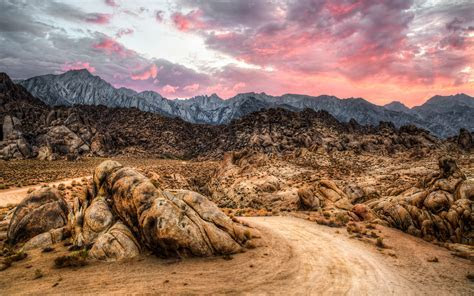 Alabama Hills, Lone Pine widescreen wallpaper   Wide