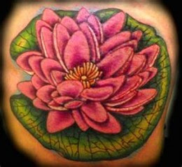Pictures Of Lily Pad Flower Tattoo Meaning Kidskunstinfo