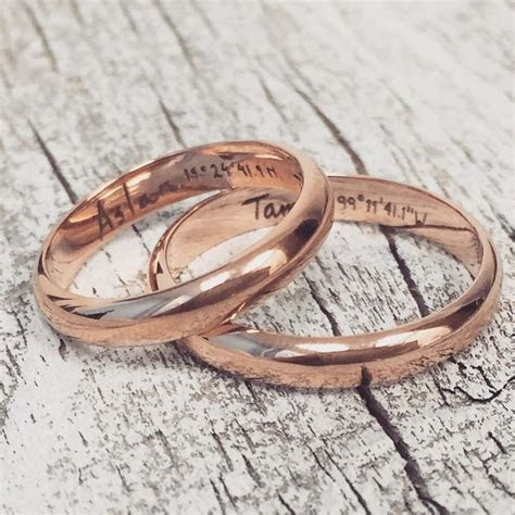 25  best ideas about Matching wedding bands on Pinterest