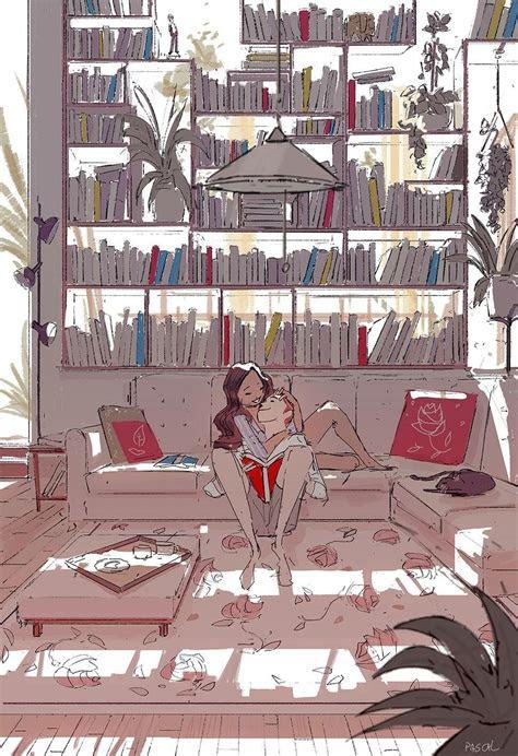 meet    bookshelf pascalcampion art