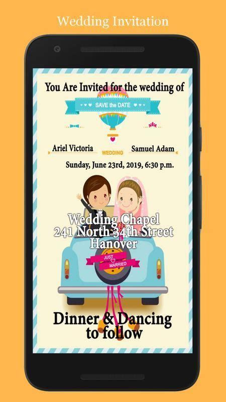 Wedding Invitation Cards maker APK Download   Free Social