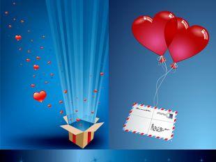 Romantic Gift Of Love Vector Free Vectors Ui Download