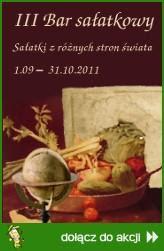 III Bar sałatkowy - Sałatki z różnych stron świata