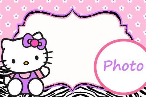Personalized Hello Kitty Invitation Template   Invitations