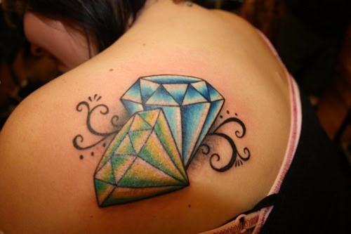 Significado De Los Tatuajes De Diamantes
