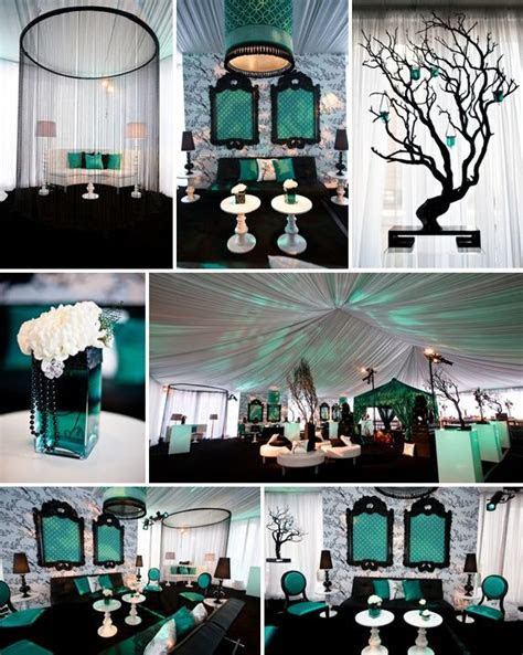 Black and Teal!   Graduation Decorations   Pinterest