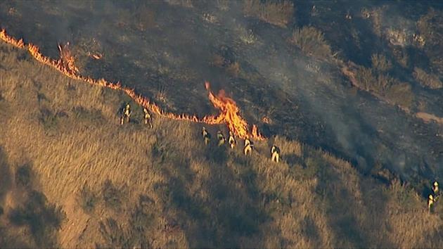 Sterling Wildfire San Bernardino