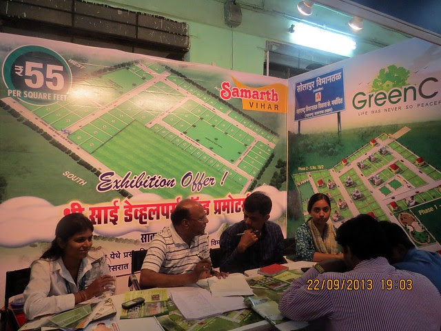 Green City Khanpur Solapur Taluka Tuljapur District Osmanabad - Agrowon Green Home Expo 2013 Season 3 - Exhibition of Weekend Homes, 2nd Homes, Farm House Plots, N A Plots & Bungalow Plots  - 21st & 22nd September 2013