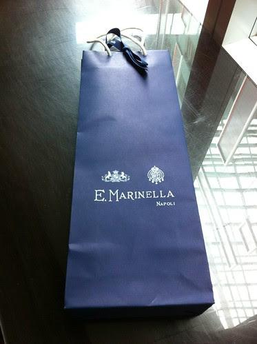 Marinella bespoke tie