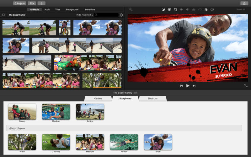 iMovie For Mac Has Been Updated With Support For 4K Video ...