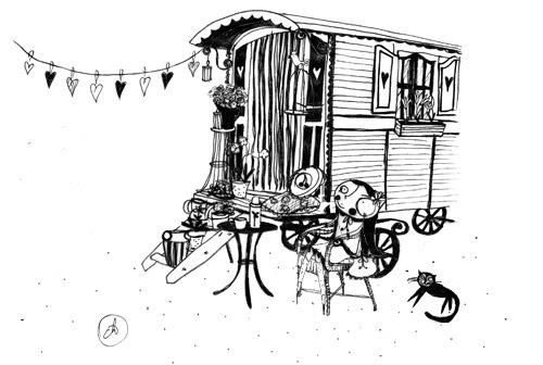 Gypsy Caravan  by good mood factory