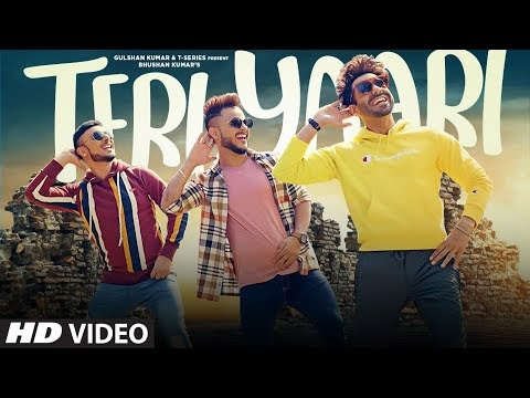 तेरी यारी / Teri Yaari Lyrics in Hindi - Millind Gaba, Aparshakti Khurana, King Kaazi