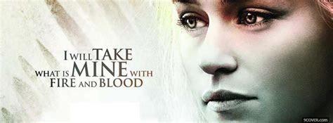Daenerys Targaryen Photo Facebook Cover