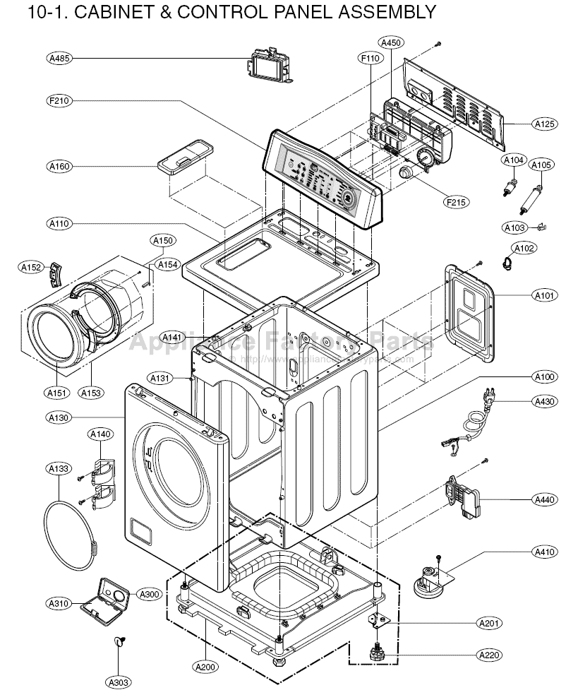 Kenmore Dryer Model 110 Parts Diagram