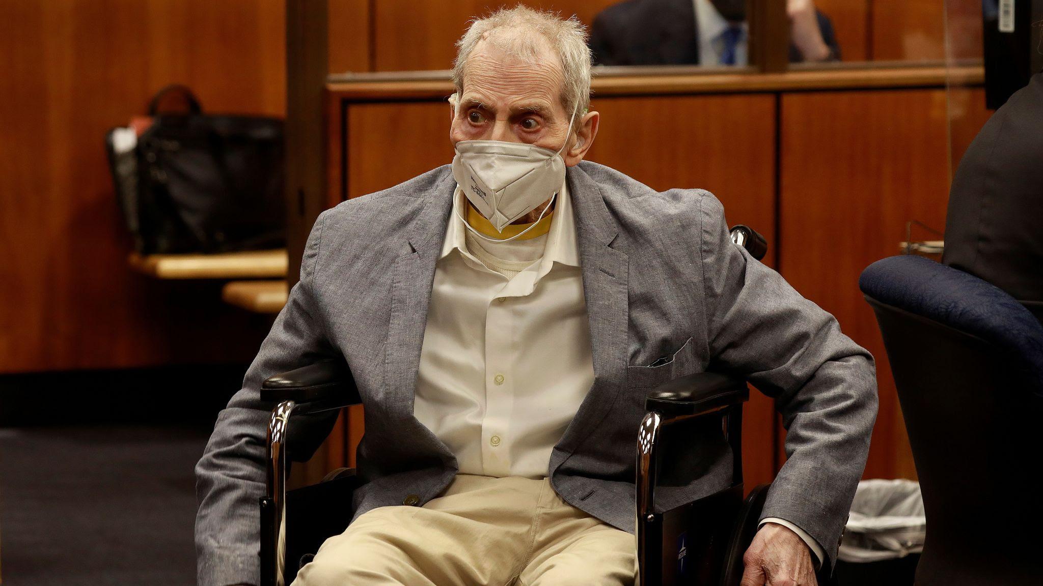 Real estate heir Robert Durst jailed for murder of best friend