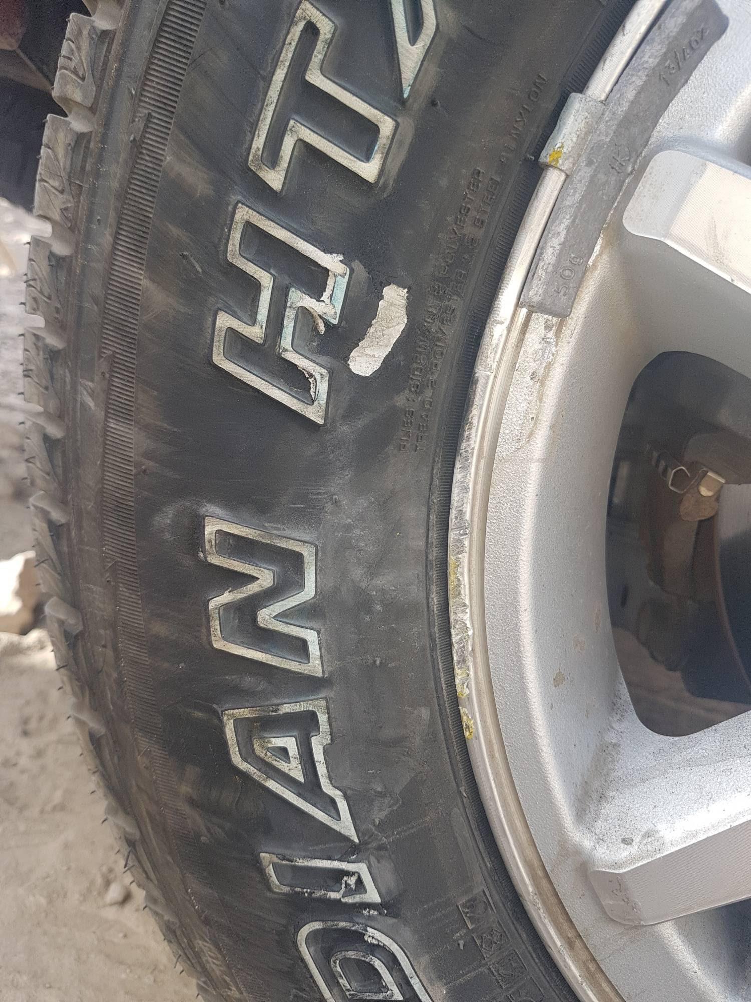 Tire Sidewall Damage In New Tire Should I Change It