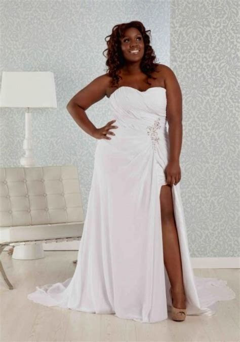 casual plus size wedding dress looks   B2B Fashion