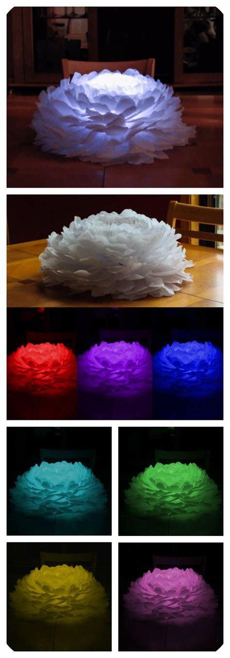 Light up paper flower. Beautiful centerpiece for weddings