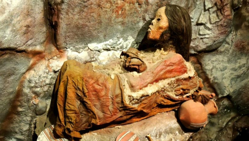 Portada - Momia Juanita. Fuente: Mummy Juanita