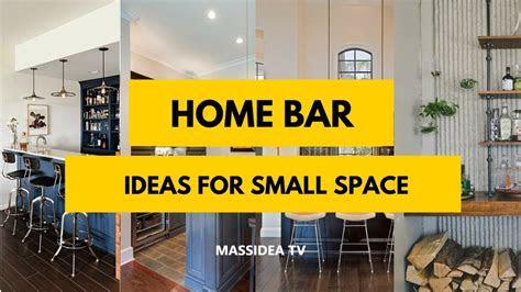 modern home mini bar ideas  small space