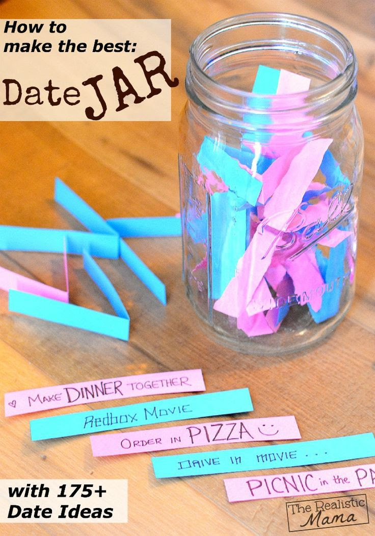 Make a date jar with your kids too!
