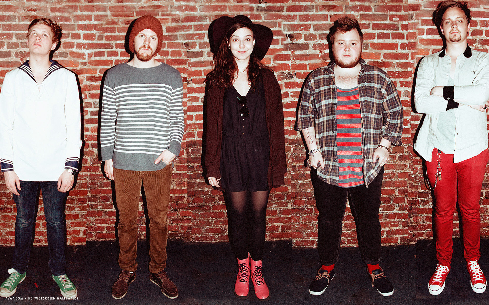 Of Monsters And Men Music Band Group Hd Widescreen Wallpaper