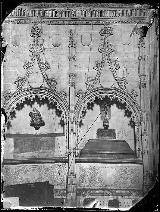 Iglesia de San Andrés en el siglo XIX. Fotografía de Casiano Alguacil, Ayuntamiento de Toledo