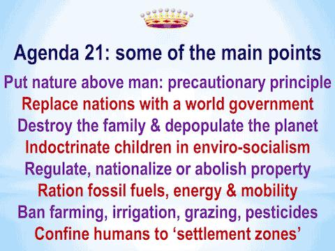 No Human Zones AGENDA 21