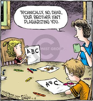 Image result for plagiarism comic