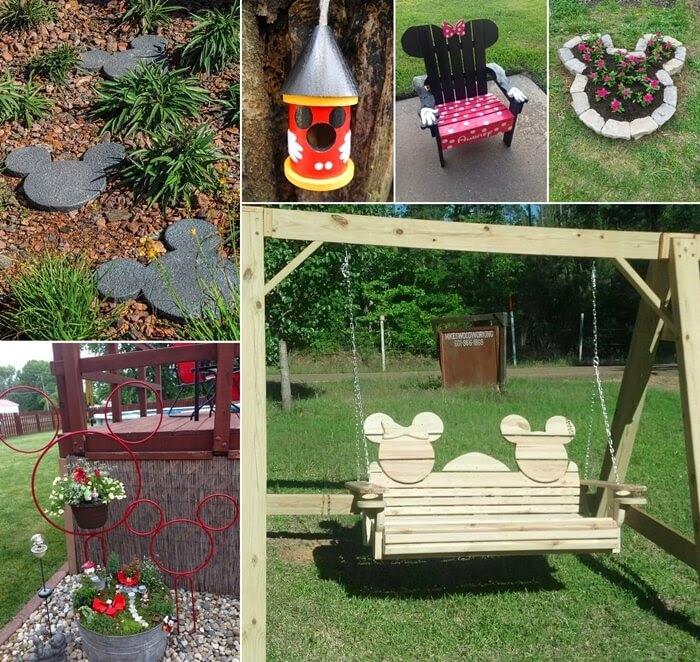 10 Cute Mickey Mouse Garden Decor Ideas