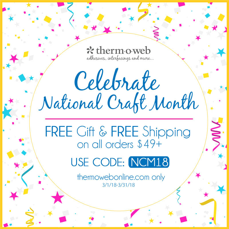 National Craft Month Free Gift with Purchase Sale