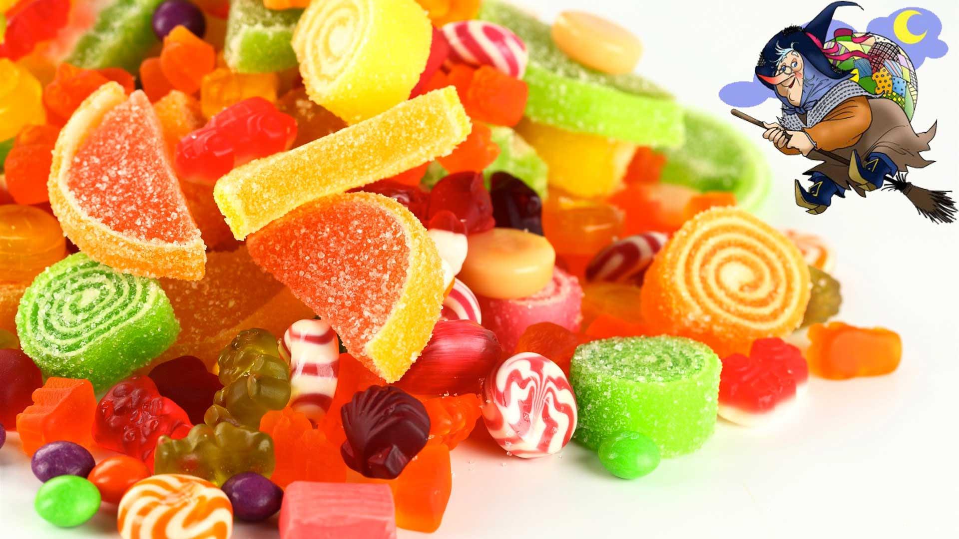 Risultati immagini per caramelle befana