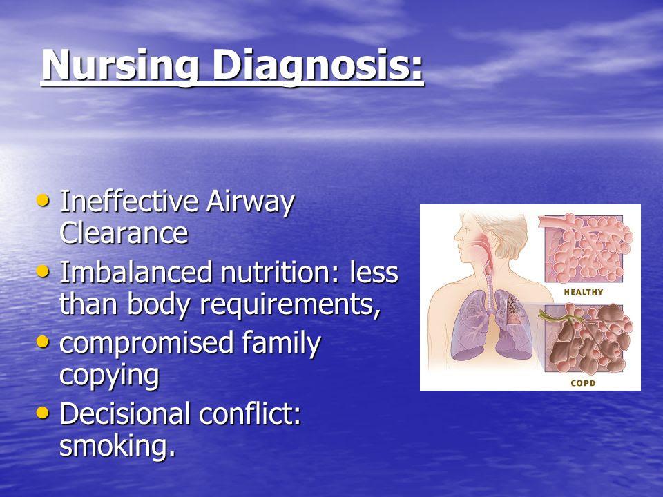 Copd Nursing Diagnosis Ineffective Breathing Pattern ...