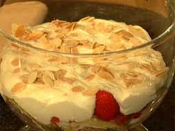 Chef Phil Vickery cooks Strawberry and Almond Trifle