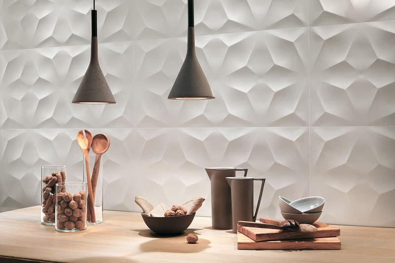 25 Spectacular 3D Wall Tile Designs To Boost Depth and Texture homesthetics ideas (3)