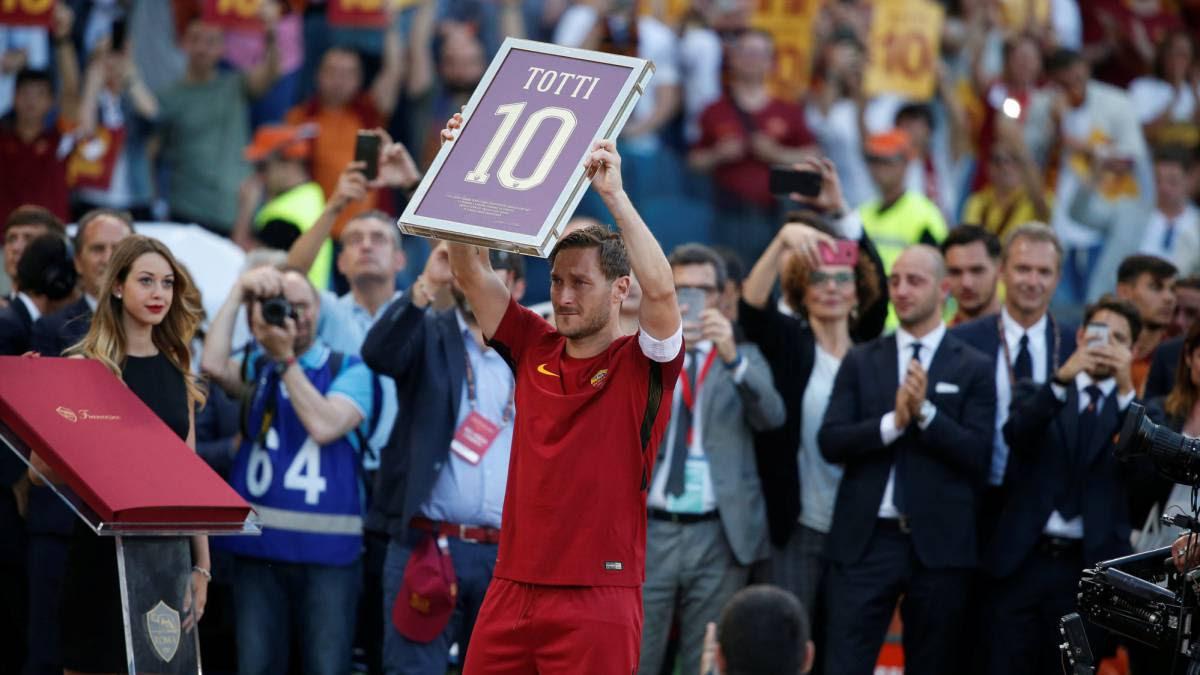 La Roma se hace con el subcampeonato en la despedida de Francesco Totti